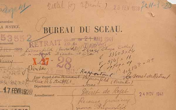 Les dossiers de naturalisation en France